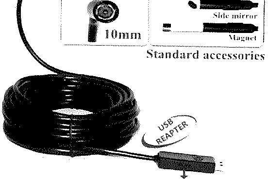 inspection camera 1